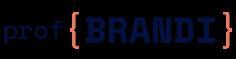 logo sito prof {BRANDI} – nosfondo