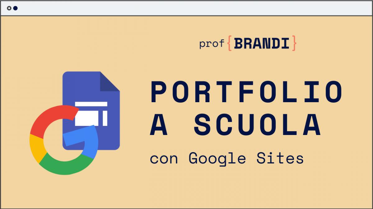 portfolio con google sites