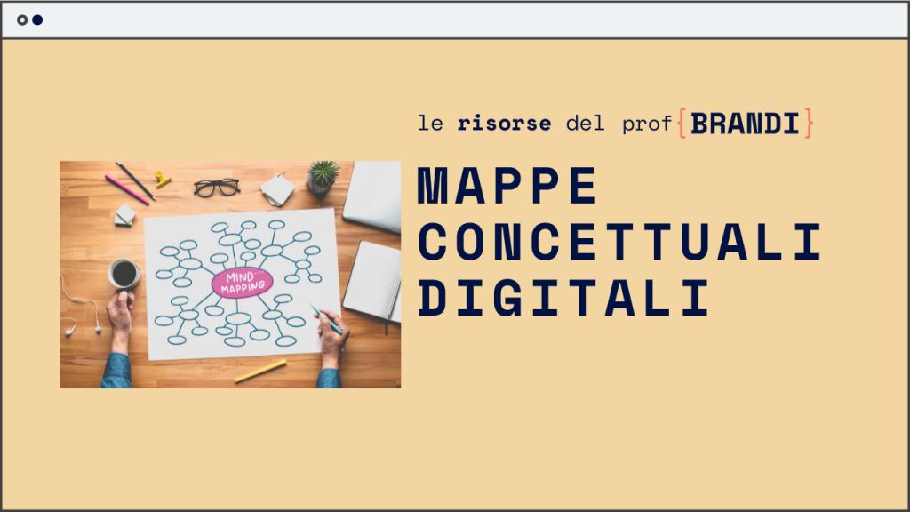 Mappe concettuali digitali: come realizzarle